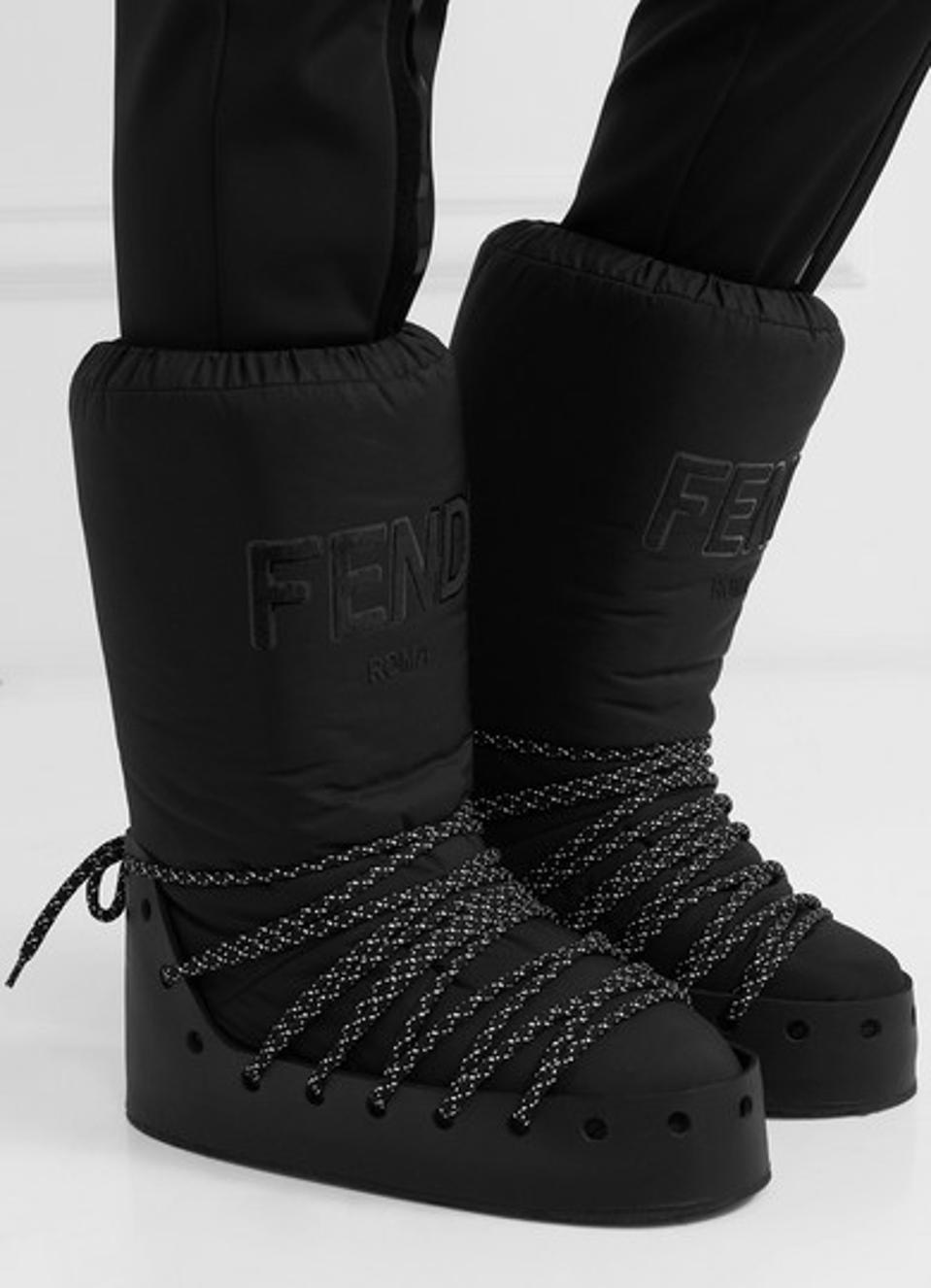 Fendi_Best Designer Winter Boots