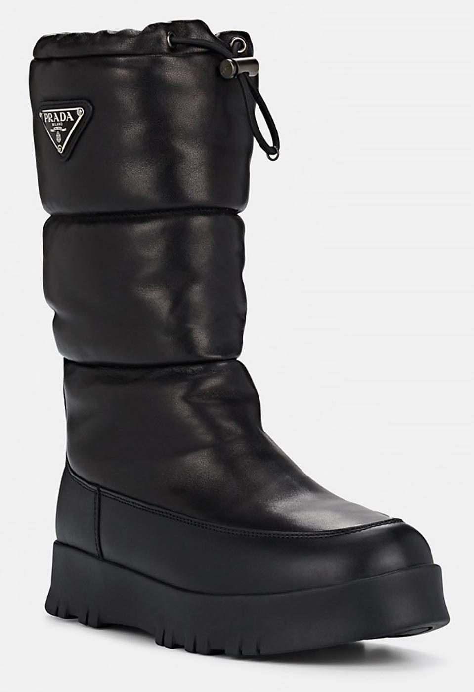 Prada_Best Designer Winter Boots