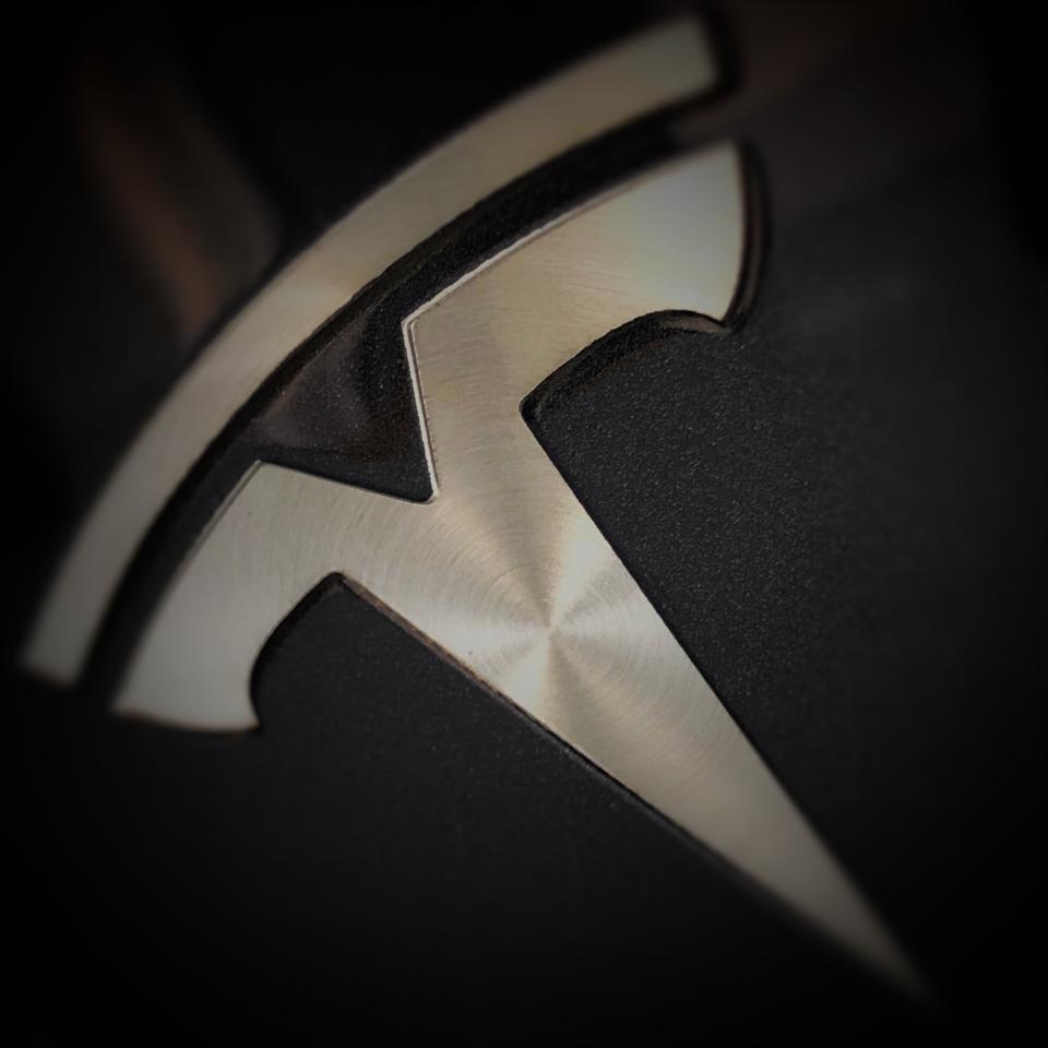IMAGE: Tesla logo - E. Dans (CC BY)