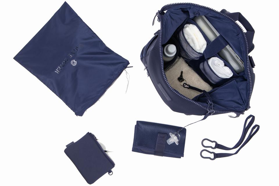 A peek inside the Dagne Dover Indi Diaper Backpack