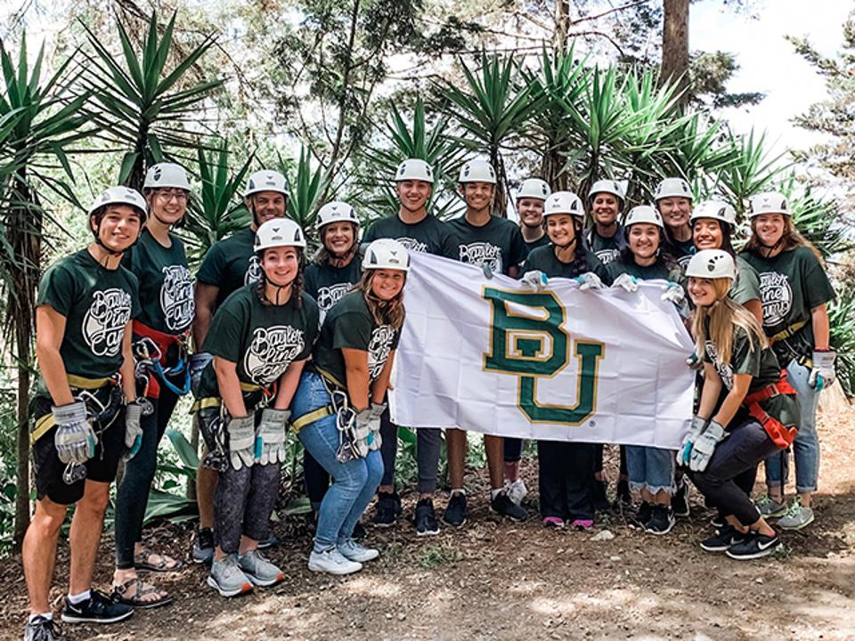 Baylor University students take part in a mission trip to Guatemala, where they worked with undernourished children.