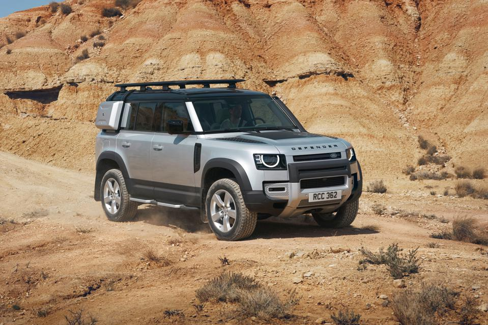Land Rover's 2020 Defender 110.