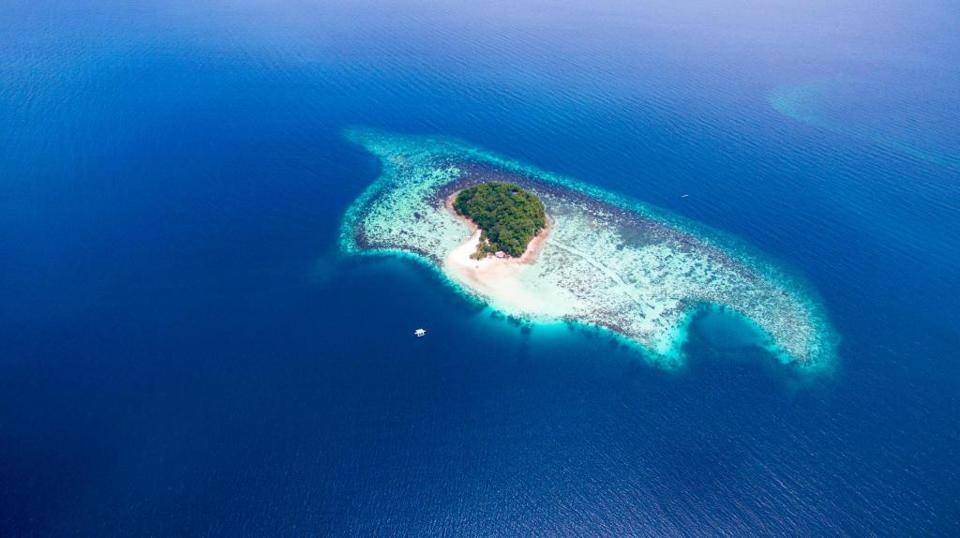 Aerial View of Bamboo Private Island