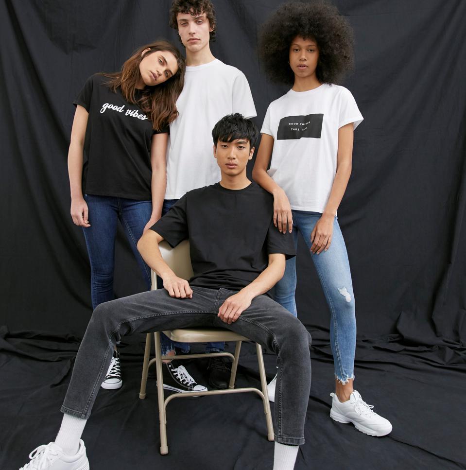 Primark sustainable cotton jeans