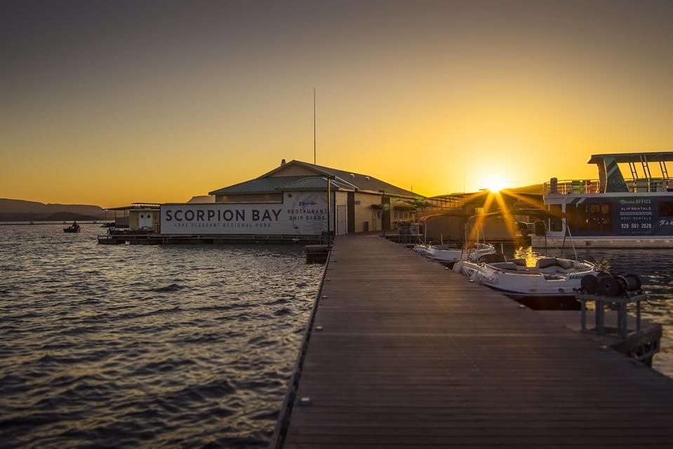 Scorpion Bay Marina