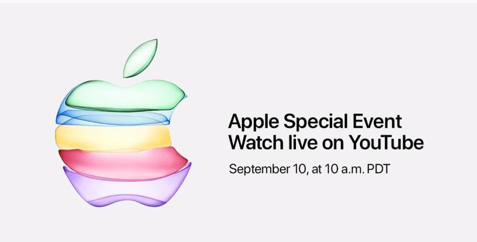 Apple is screening its keynote live on YouTube for the first time.