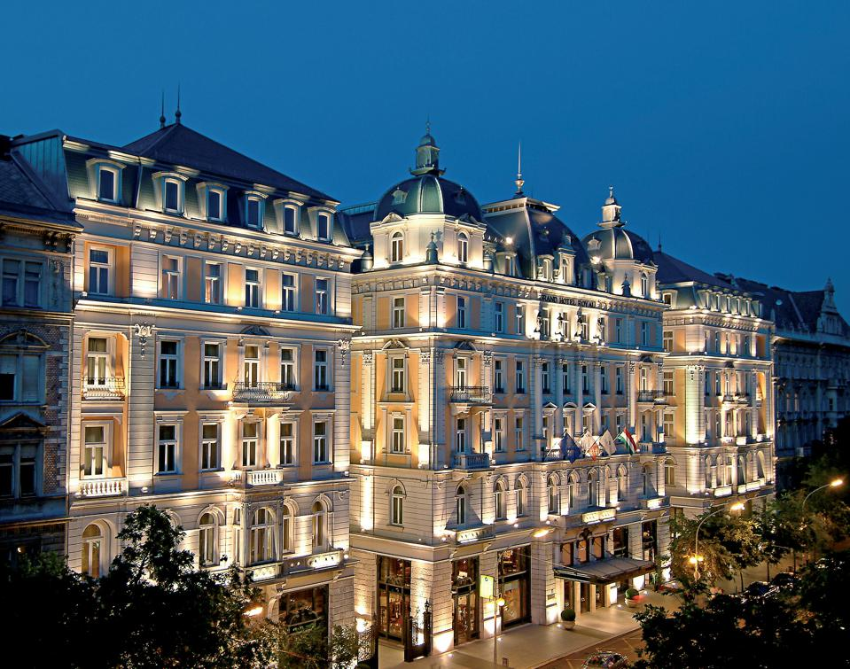 For The Epitome Of European Chic, It Has To Be The Corinthia Budapest
