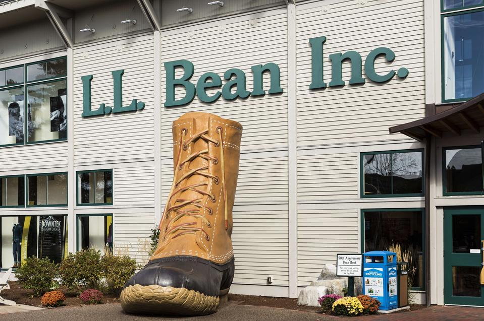 LL Bean flagship store...