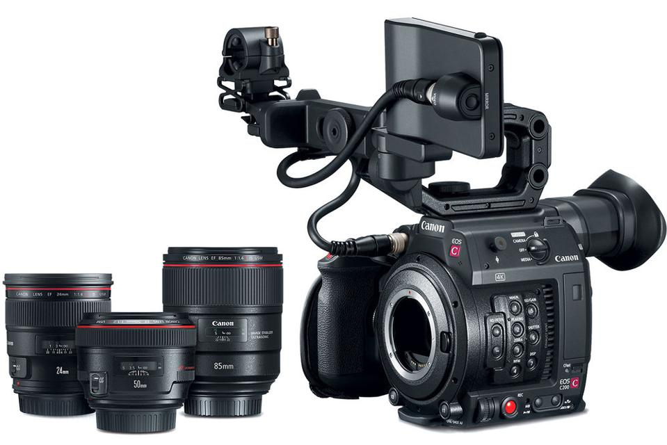 The Canon Cinema EOS C200 Kit