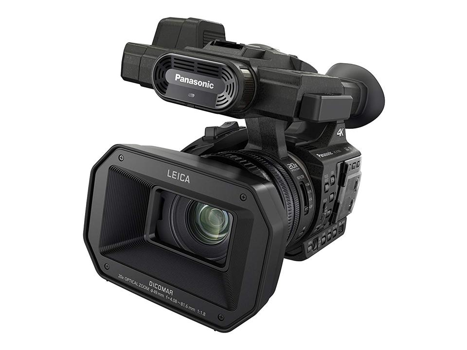 The Panasonic HCX1000 is light, fast and shoots sharp 4K video