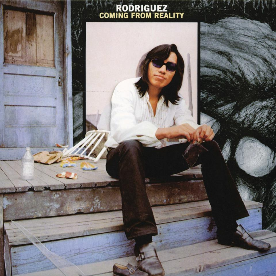 Cover art of the 1971 album 'Coming From Reality' by Rodriguez.