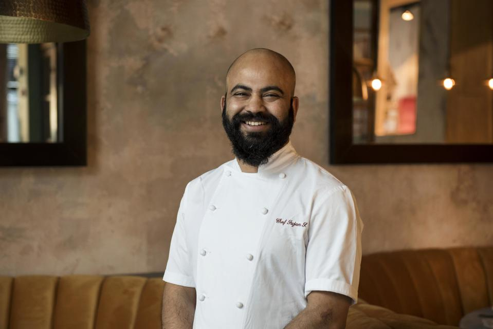 BAAR BAAR executive chef Sujan Sarkar.