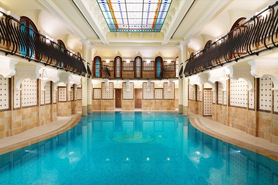 The Corinthia Hotel Budapest spa.