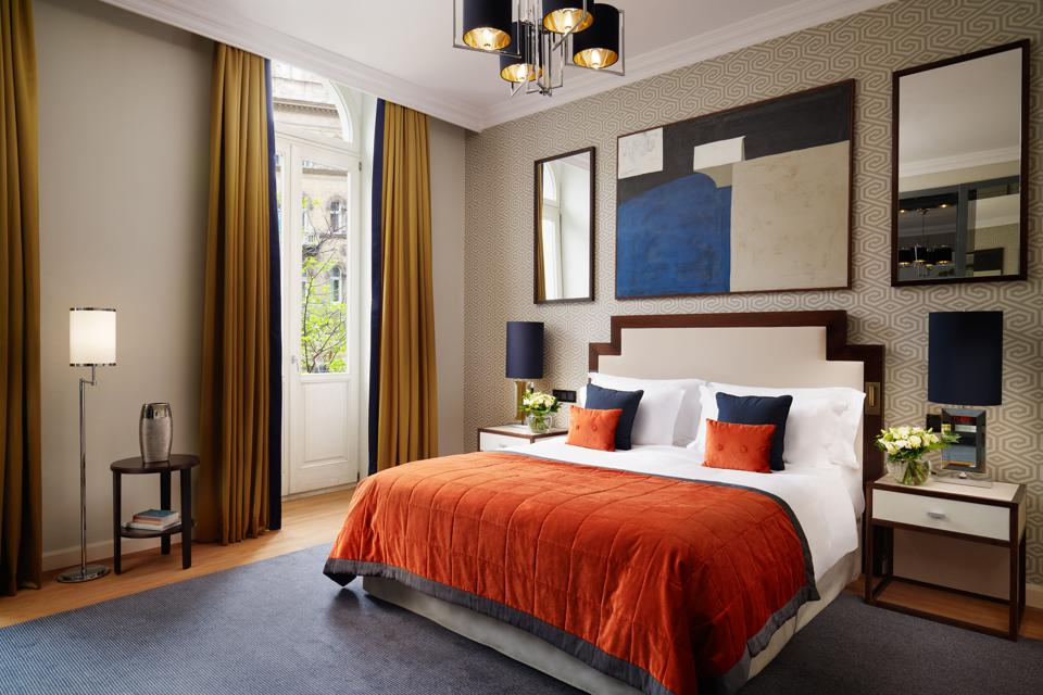 An Executive Suite at the Corinthia Hotel Budapest.