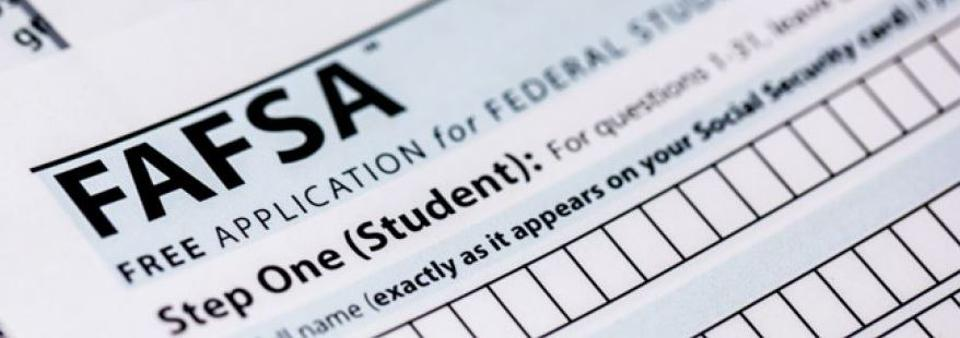 October 1st, the earliest date students can file the Free Application for Federal Student Aid, is coming.