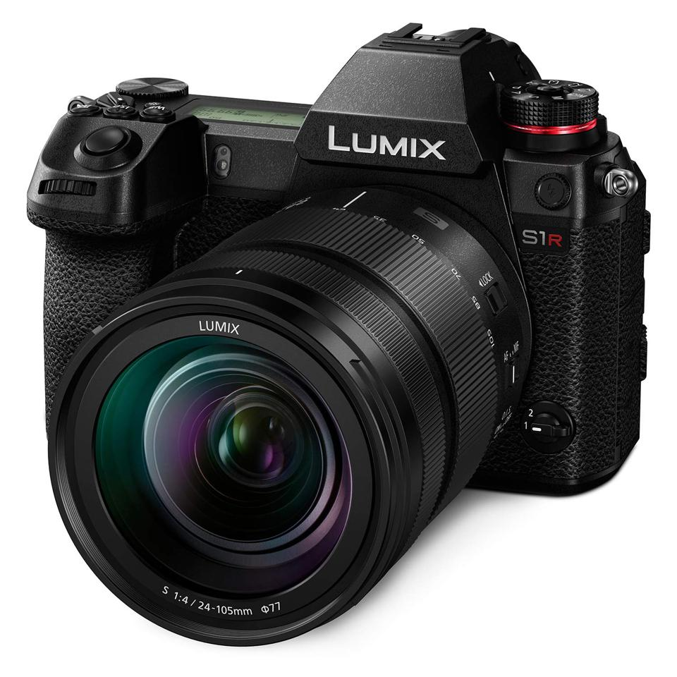 The Lumix S1R full-frame mirrorless camera system.