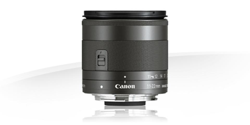 Canon's 11-22mm EF-M wide angle