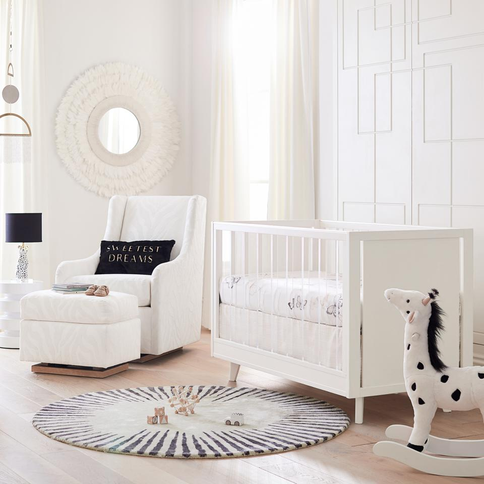 A Rachel Zoe x Pottery Barn Kids nursery