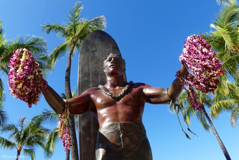 Duke Kahanamoku Honolulu Hawaii