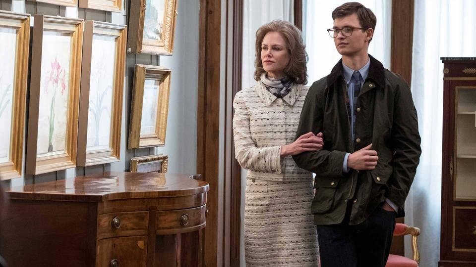 Ansel Elgort and Nicole Kidman in 'The Goldfinch'