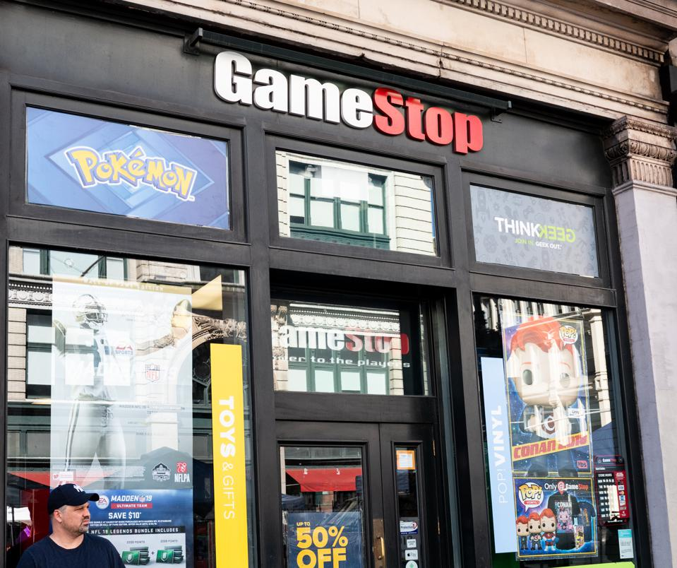 GameStop and video game