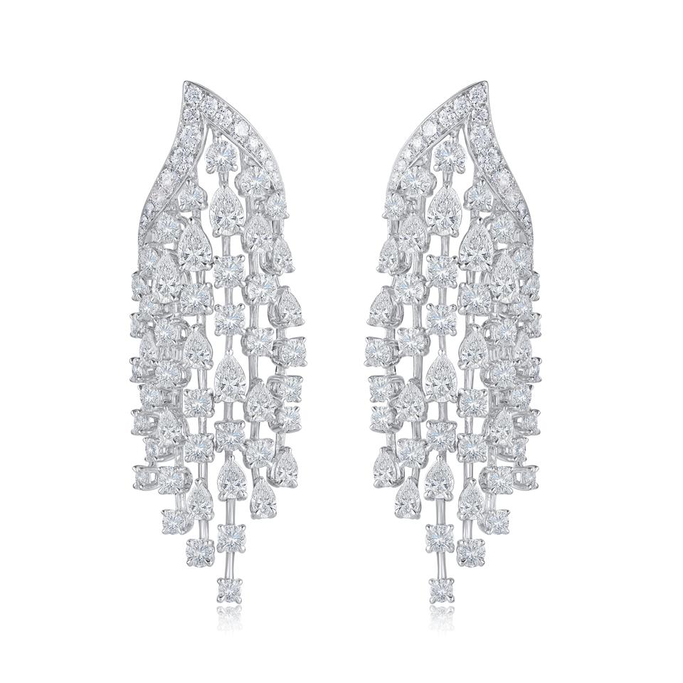 Harakh Cascade cascade earrings