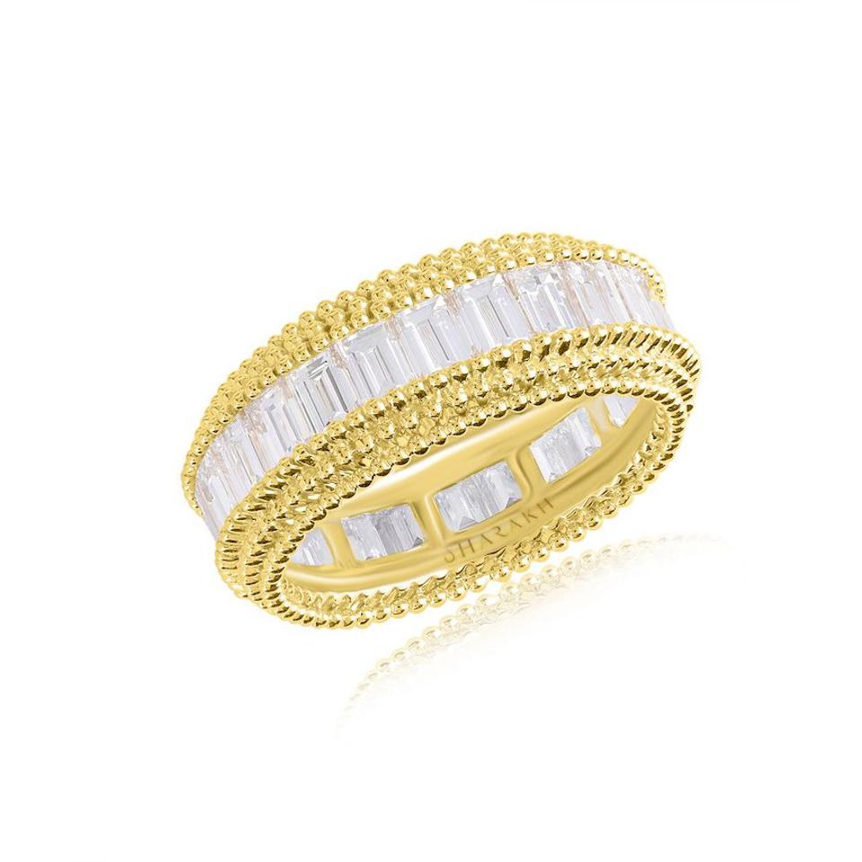 Harakh Sunlight stackable diamond ring