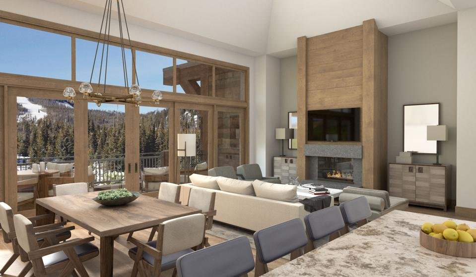 The 39 Residences at Montage Big Sky range from 2-bedrooms to 6-bedrooms and from 2,300 to 8,100 interior square feet.