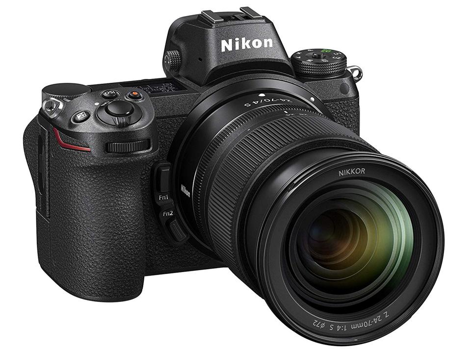 The Nikon Z7 kit includes a 24-70mm F4 lens