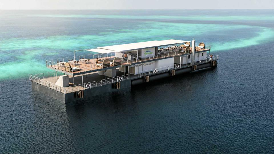 An Underwater Hotel Is Coming To The Great Barrier Reef In Australia