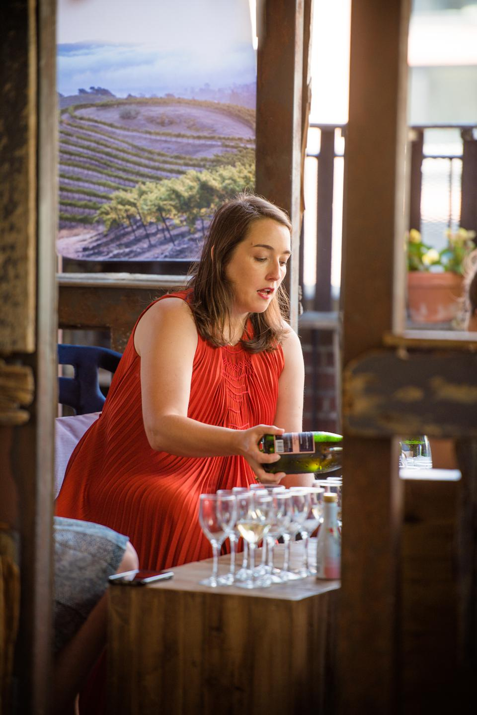 Initially joining as an intern, Lhote, who was raised in Champagne, France, worked her way up the ranks of the company to her present position as Director of Winemaking at Domaine Chandon.