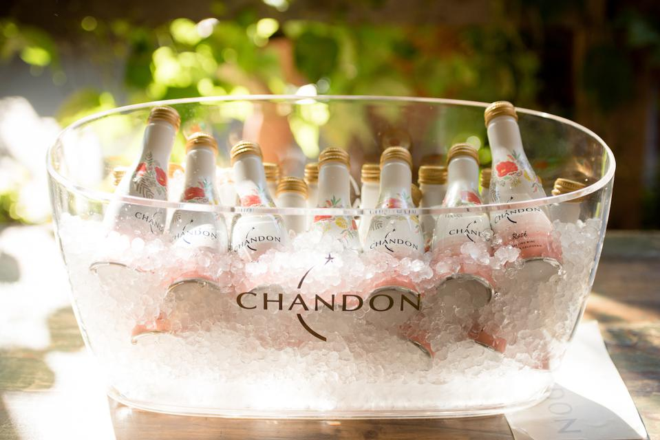 Under Lhote, Domaine Chandon also introduced a single-serve bottle of the Rosé to its convenient single-serve range. The aluminum bottle is available at on-premise locations around the country where glass bottles could not be sold.
