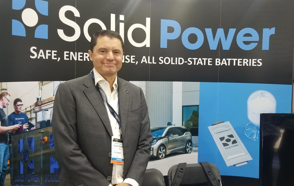 Solid Power has developed a solid state battery for electric vehicles.