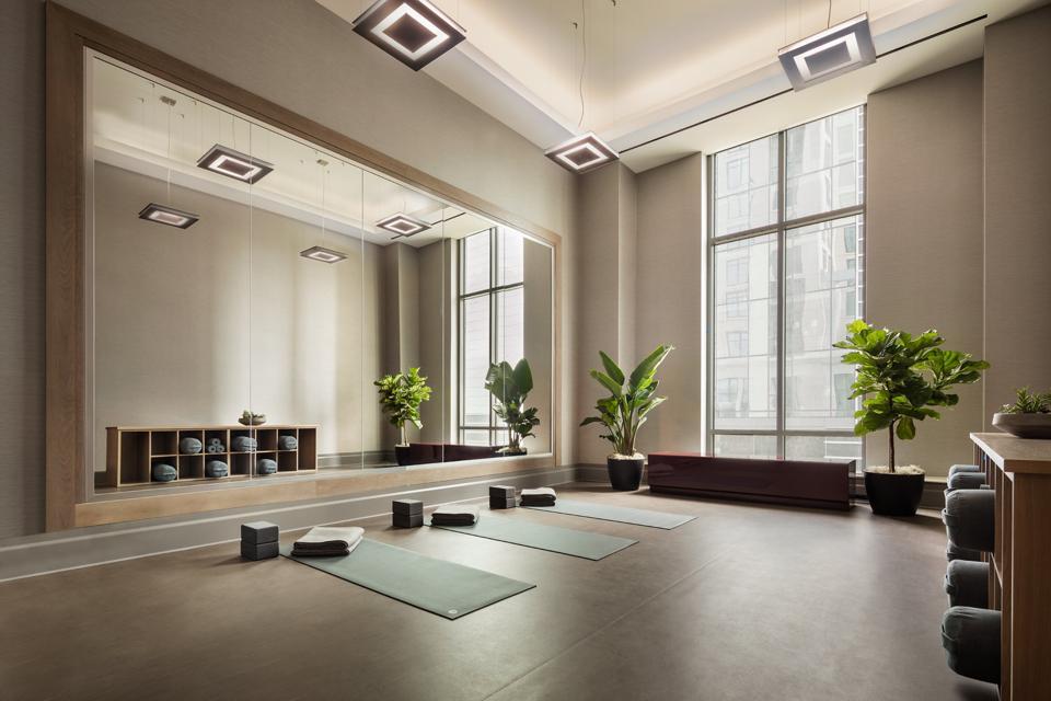 One Bennett Park, Chicago yoga studio