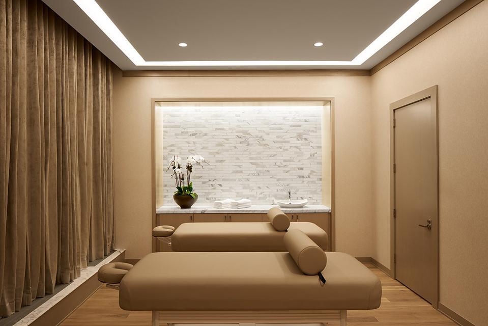 Massage room at luxury rental/condo community