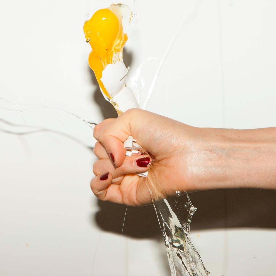 The cover of Yeah Yeah Yeahs's 2009 album 'It's Blitz' by Urs Fischer.
