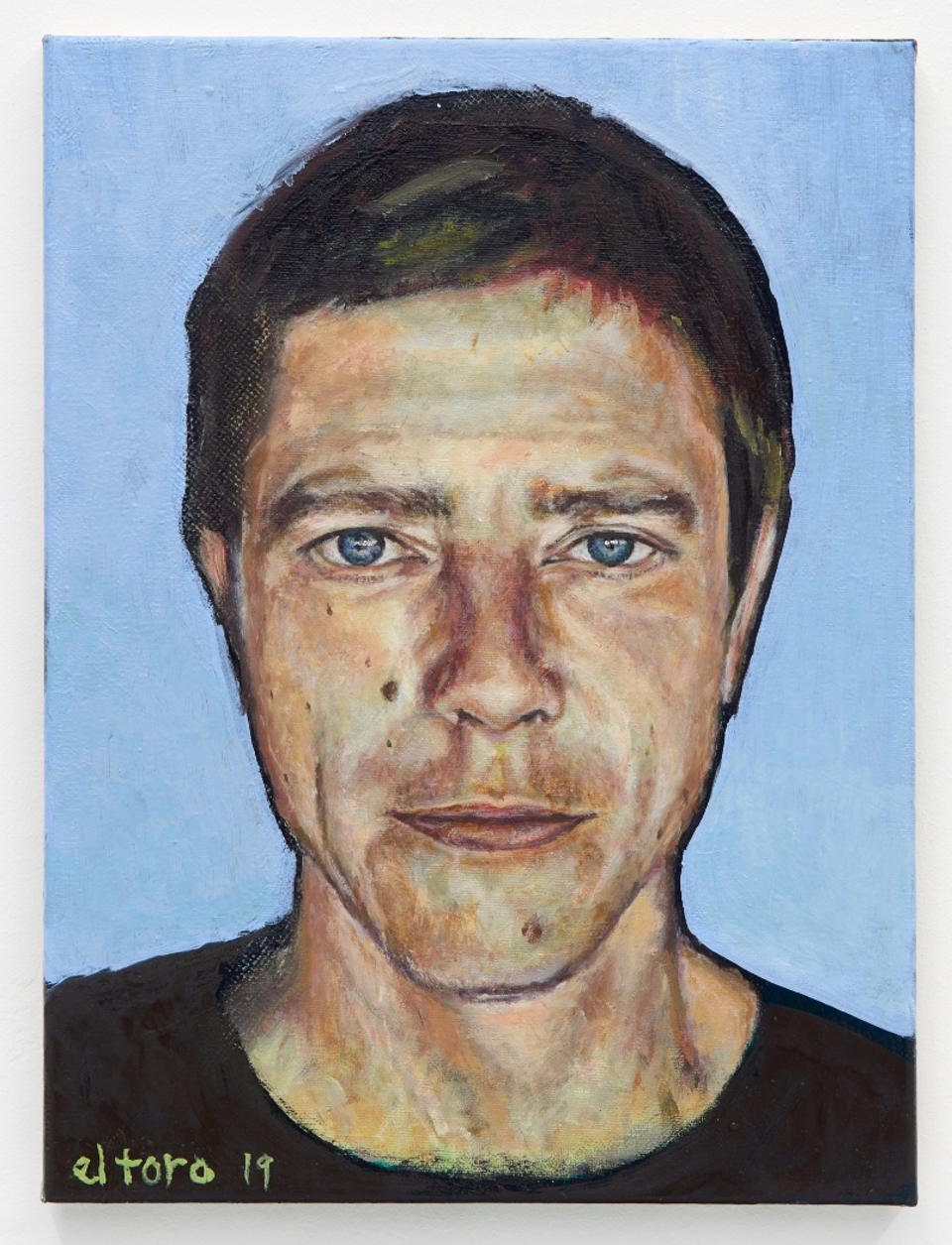 'Self-Portrait' by Interpol's Paul Banks.