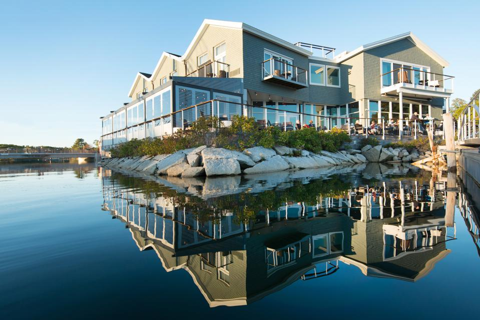 The Boathouse Waterfront Hotel in Kennebunkport, Maine