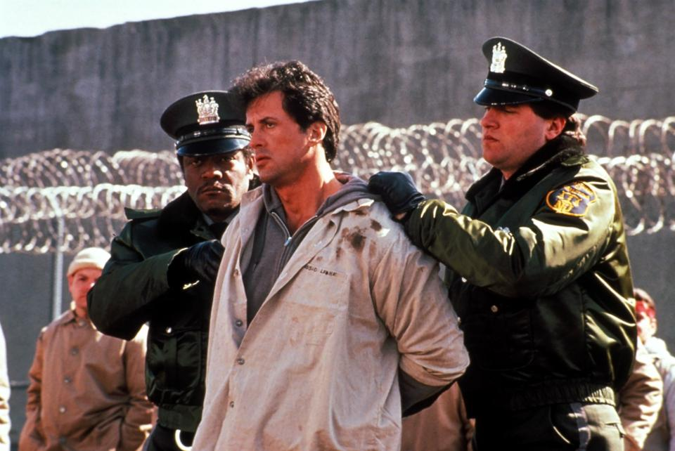 Sylvester Stallone Lock Up Donald Sutherland