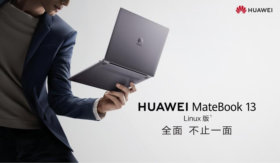 Huawei MateBook 13 with Linux