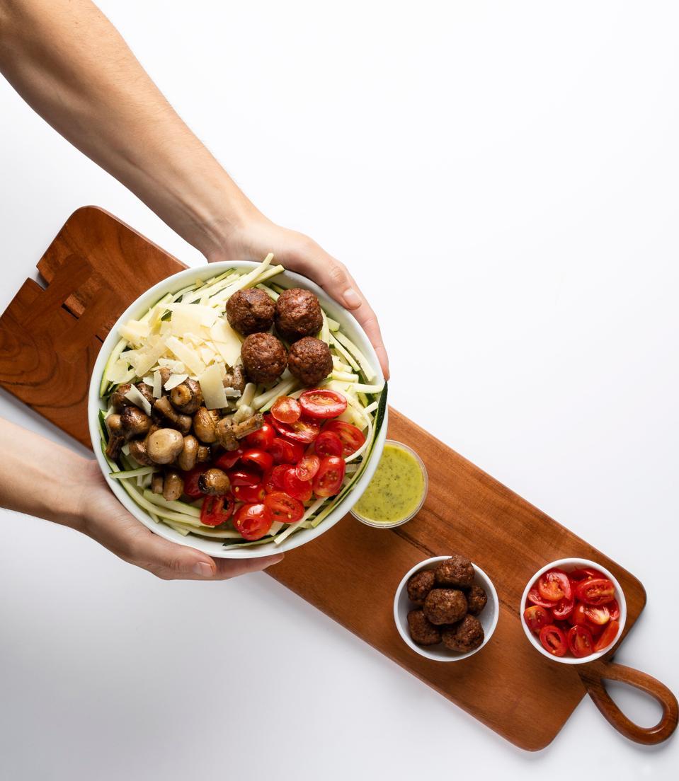 Just Salad's Beyond Beef Meatballs