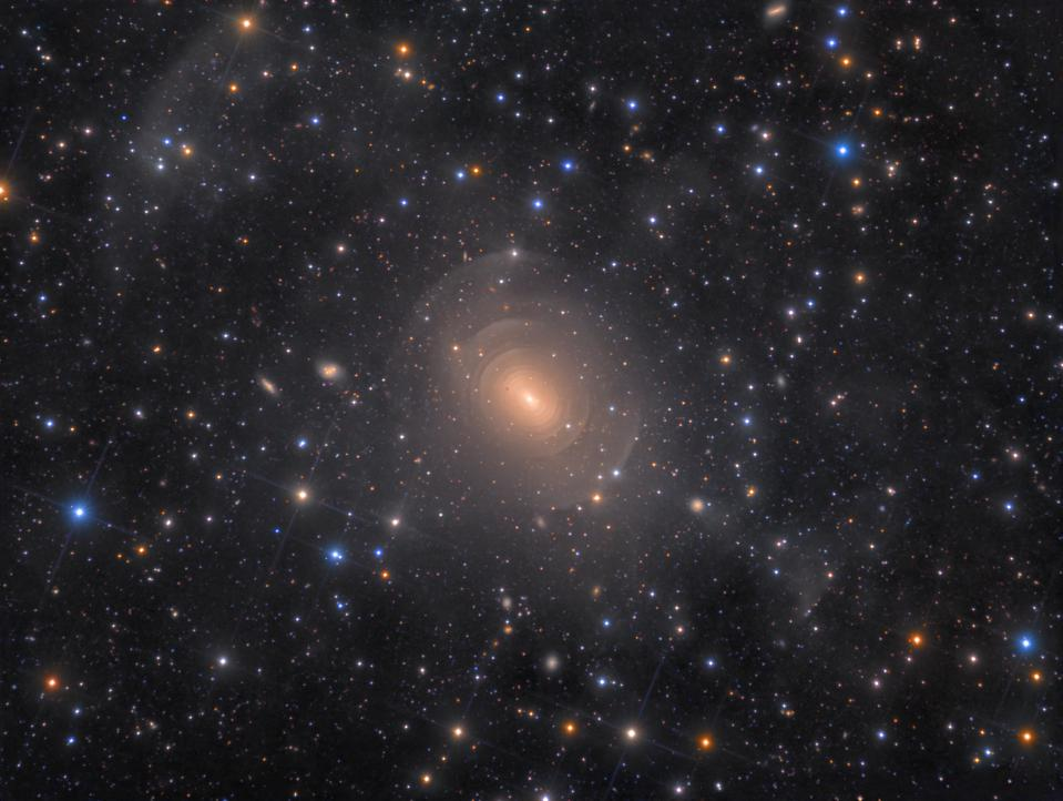 Shells of Elliptical Galaxy NGC 3923 in Hydra © Rolf Wahl Olsen (Denmark) - WINNER