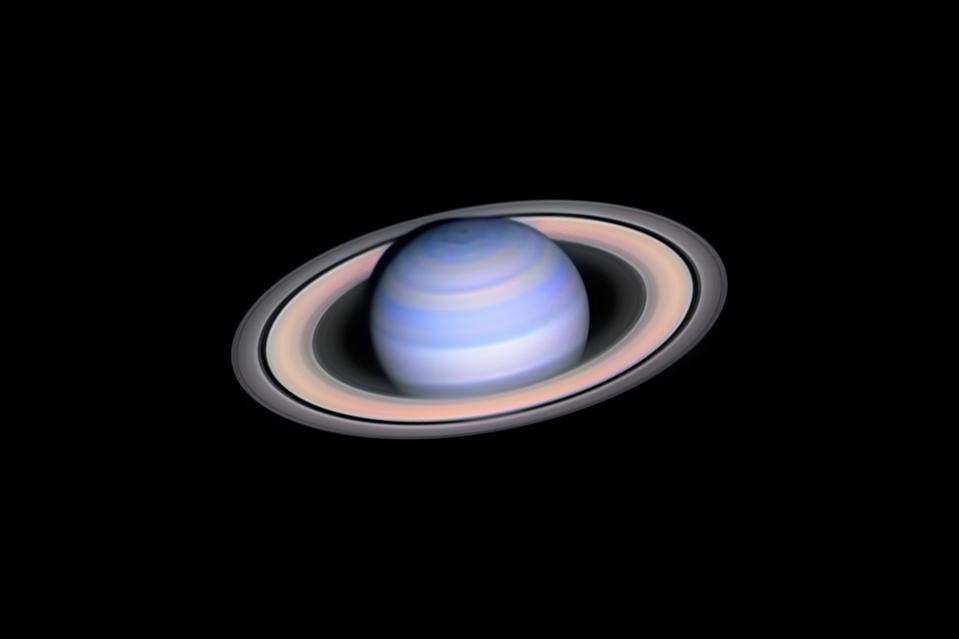 Infrared Saturn © László Francsics (Hungary) - WINNER