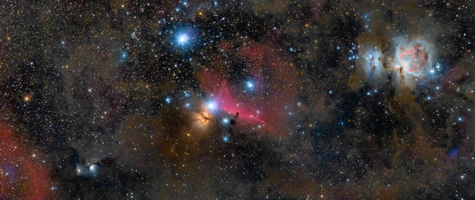 The Jewels of Orion © Ross Clark (UK) - JOINT WINNER
