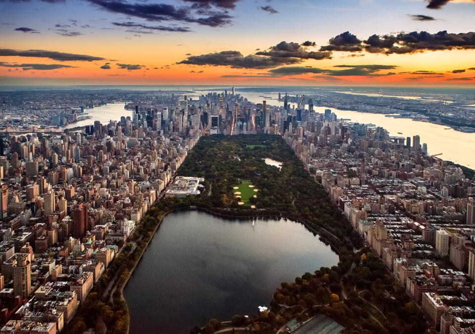 Aerial View - Central Park