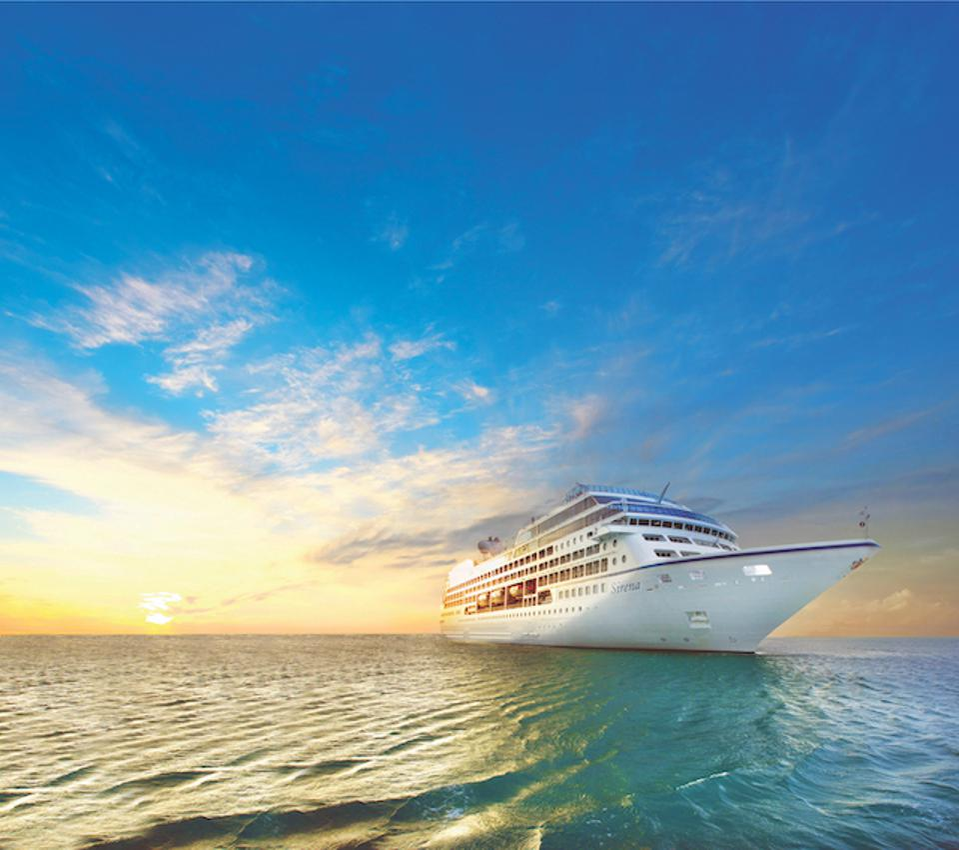 The 684-passenger Oceania Sirena