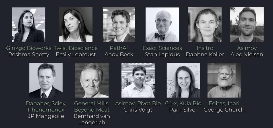 The 12 industry leaders and trailblazers, set to advise the Petri entrepreneurs