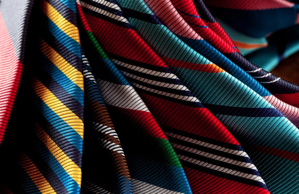 A selection of ties.
