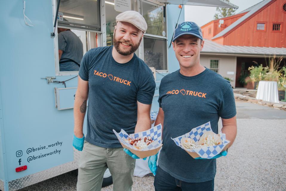 Austin Banach and Jeff Blaugrund of Braise Worthy