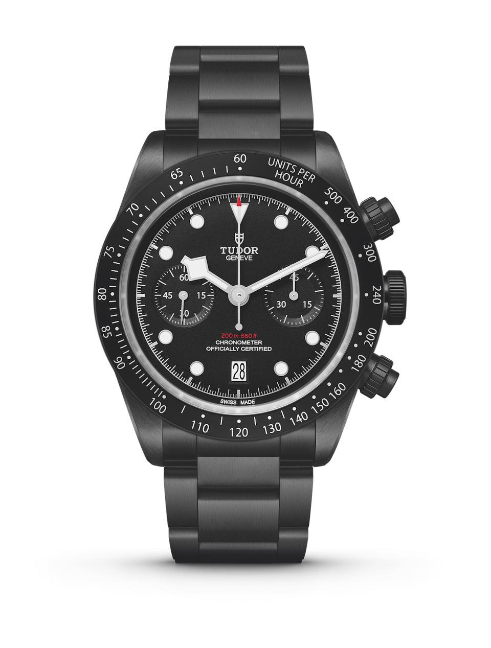 Tudor Watches, Official Timekeeper Of Rugby World Cup 2019, Unveils Tudor Black Bay Chrono Dark